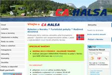 Nahozeno - rybářské info centrum - reklamní banner